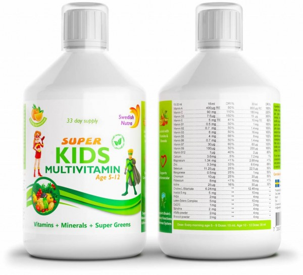 Super Kids Liquid Multivitamin
