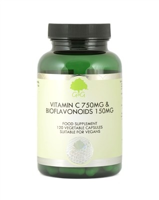 Vitamin C 750 mg Bioflavonoide 150 mg