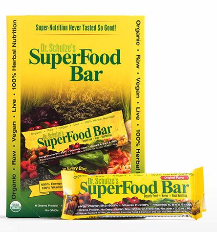 Dr. Schulze's SuperFood Bar