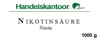 Nikotinsäure (Niacin) Pulver