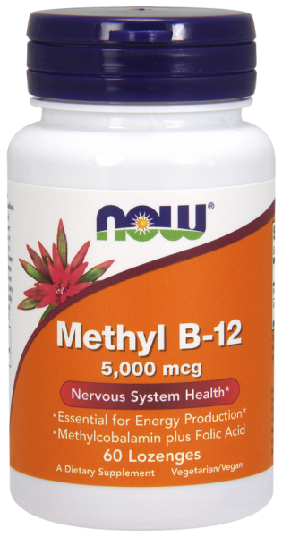 Vitamin B12 Methylcobalamin 1000 - NOW FOODS