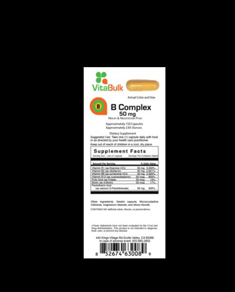 B Complex 50 mg Vitalbulk