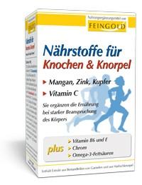 Nährstoffe für Knochen & Knorpel