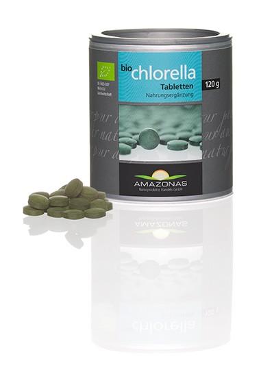 Chlorella Süßwasseralge 250 mg BIO