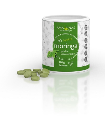 BIO Moringa Tabletten 120 g