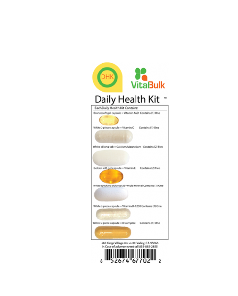 Daily Health Kit 30 Tage Vitalbulk