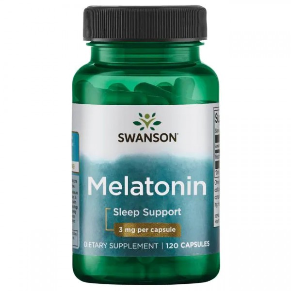 Melatonin 3 mg Swanson