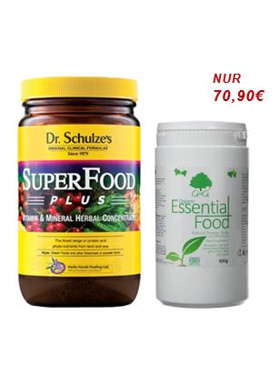 Superfood & Essential Food - das magische Duo