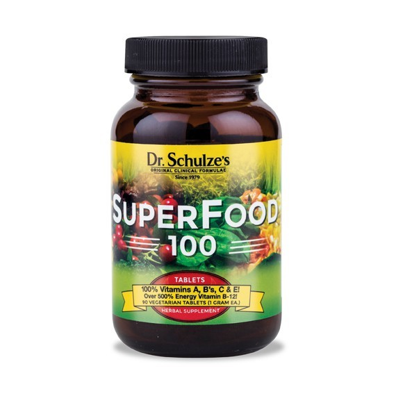 Dr. Schulze Superfood-100 Tabletten