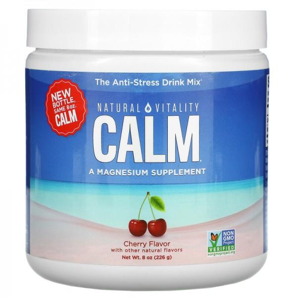 Natural Calm Magnesiumcitrat mit Geschmack