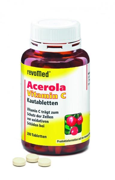Vitamin C Acerola Kautabletten 100 mg