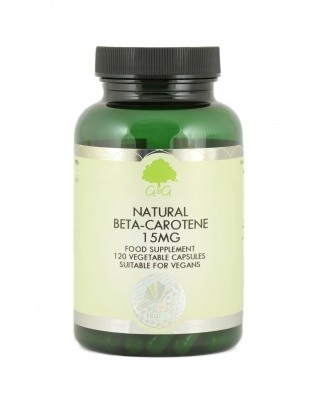 Betacarotin Vitamin A 15 mg