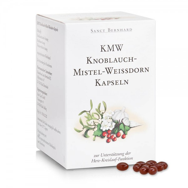 KMW Knoblauch-Mistel-Weißdorn Kapseln