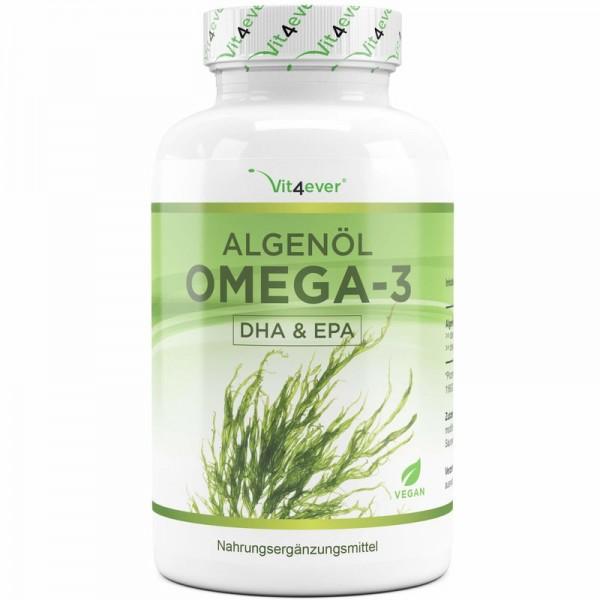 Algenöl Omega-3 Kapseln