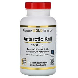Antarctic Krill Omega 3 mit Astaxanthin 1000 mg