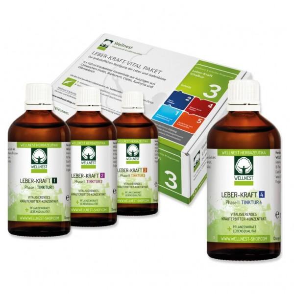 Wellnest Leber-Kraft Vitalkur Paket (40 Tage)