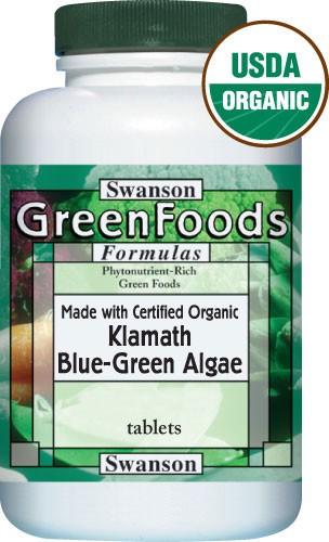 Blau-Grüne Klamath AFA Alge 500 mg