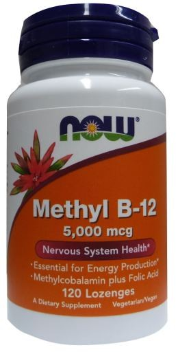 B12 5.000 Methylcobalamin - NOW FOODS