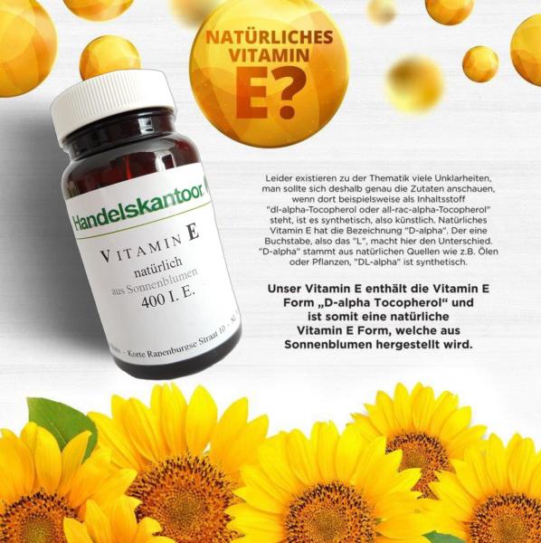 Vitamin E 400 IE