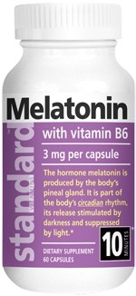 Melatonin 3 mg Nutrina