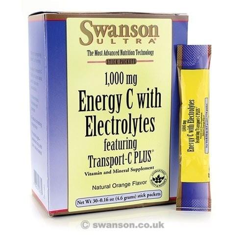 Swanson Ultra Energy C mit Elektrolyten & Transport C PLUS