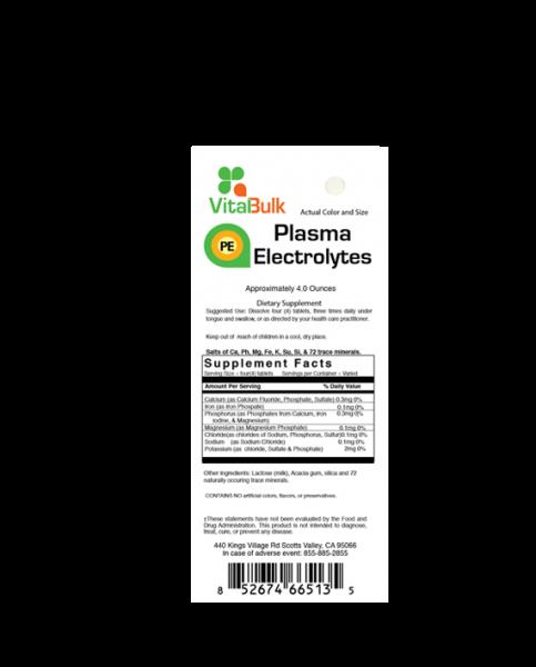 Plasma Electrolytes Vitalbulk