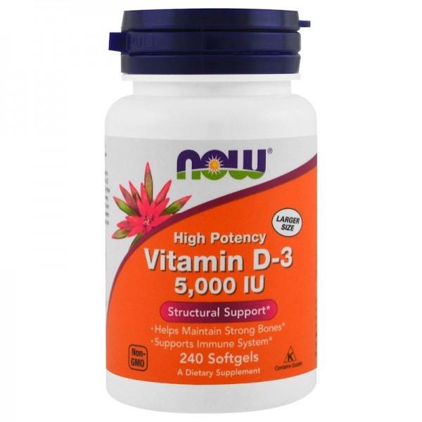 Vitamin D3 5000 - NOW FOODS