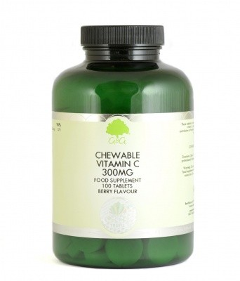 Vitamin C 300 mg zum Kauen