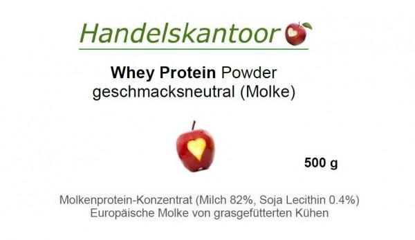 Whey Protein Powder (Weizen-Protein-Pulver) 500 g