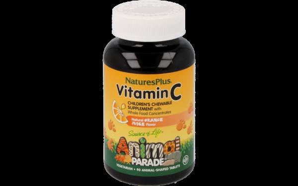 Animal Parade Vitamin C 125mg Kautabletten