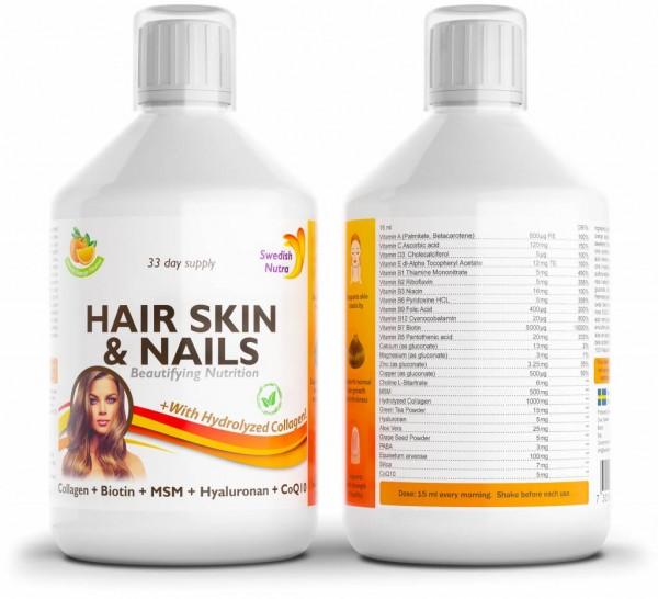 HAIR SKIN & NAILS liquid