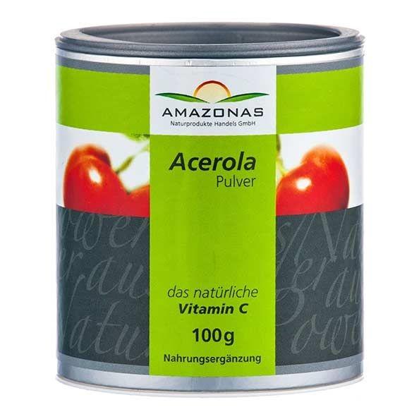 Acerola Vitamin C Pulver